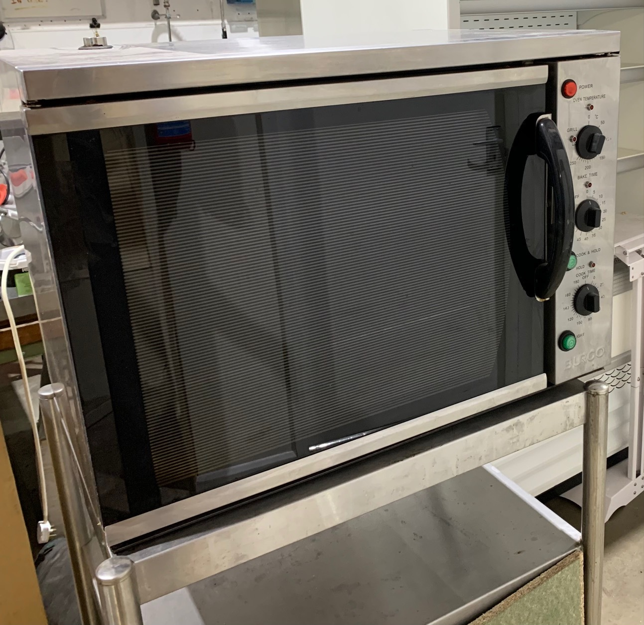 Burco electric table top convection oven