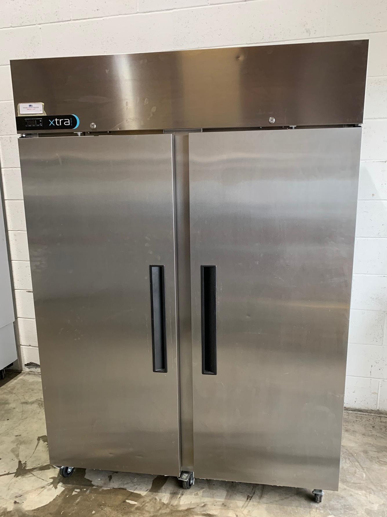 Foster Xtra double door freezer