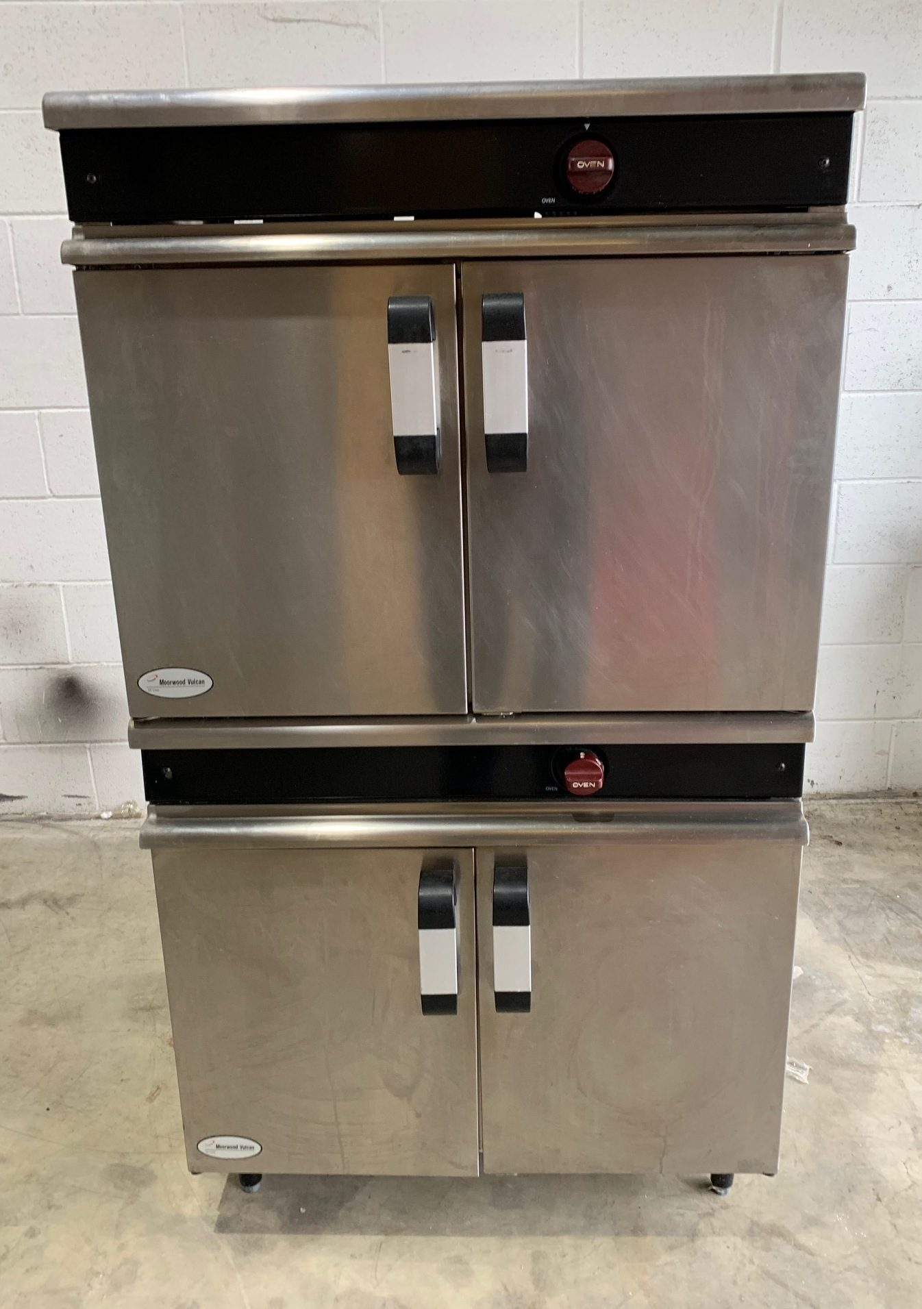 Moorwood Vulcan gas double deck oven