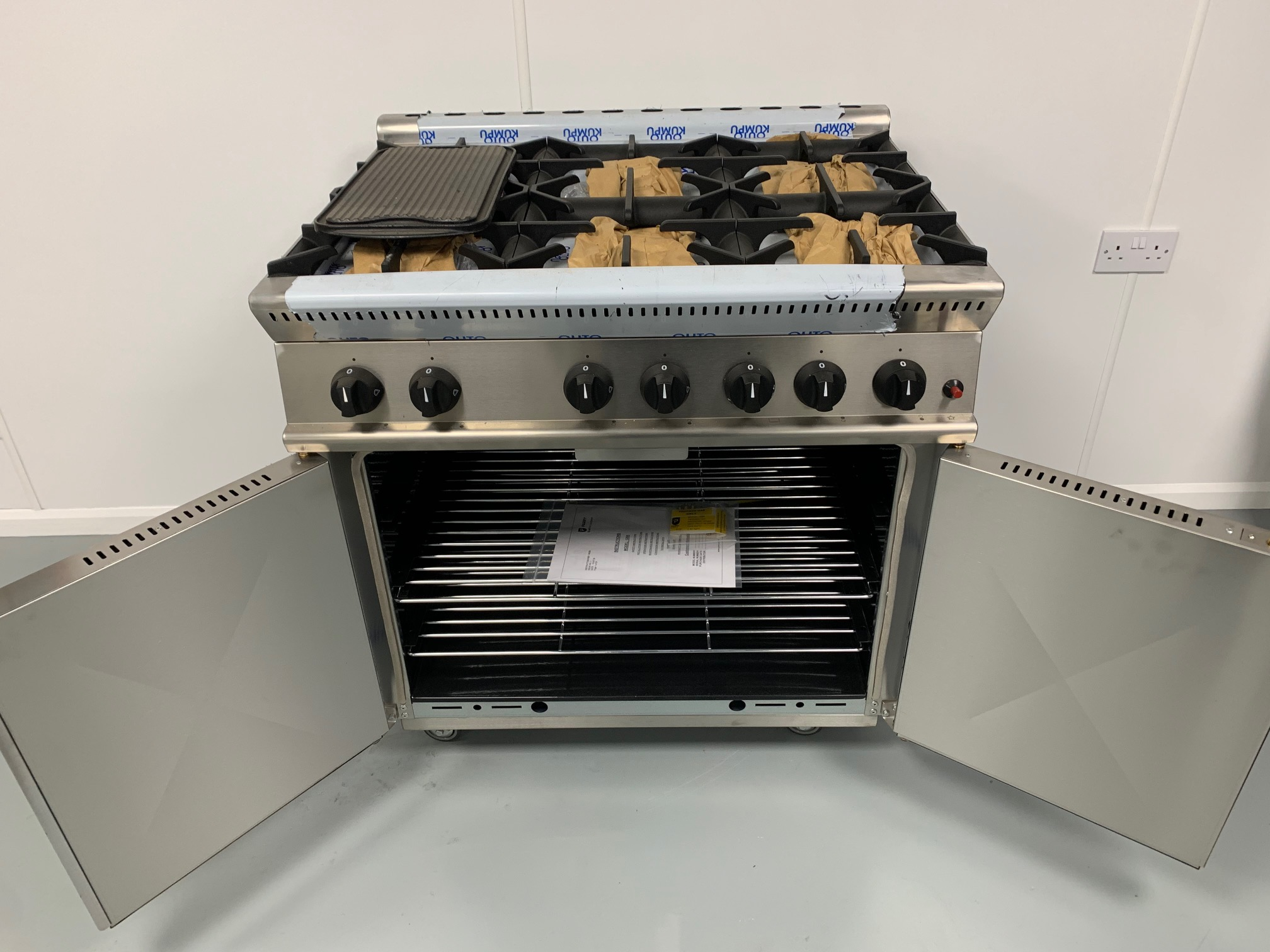 Parry gas 6 burner